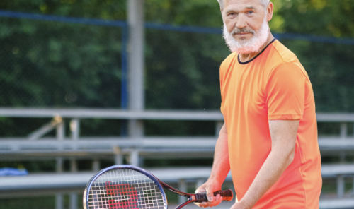Il tennis per invecchiare bene