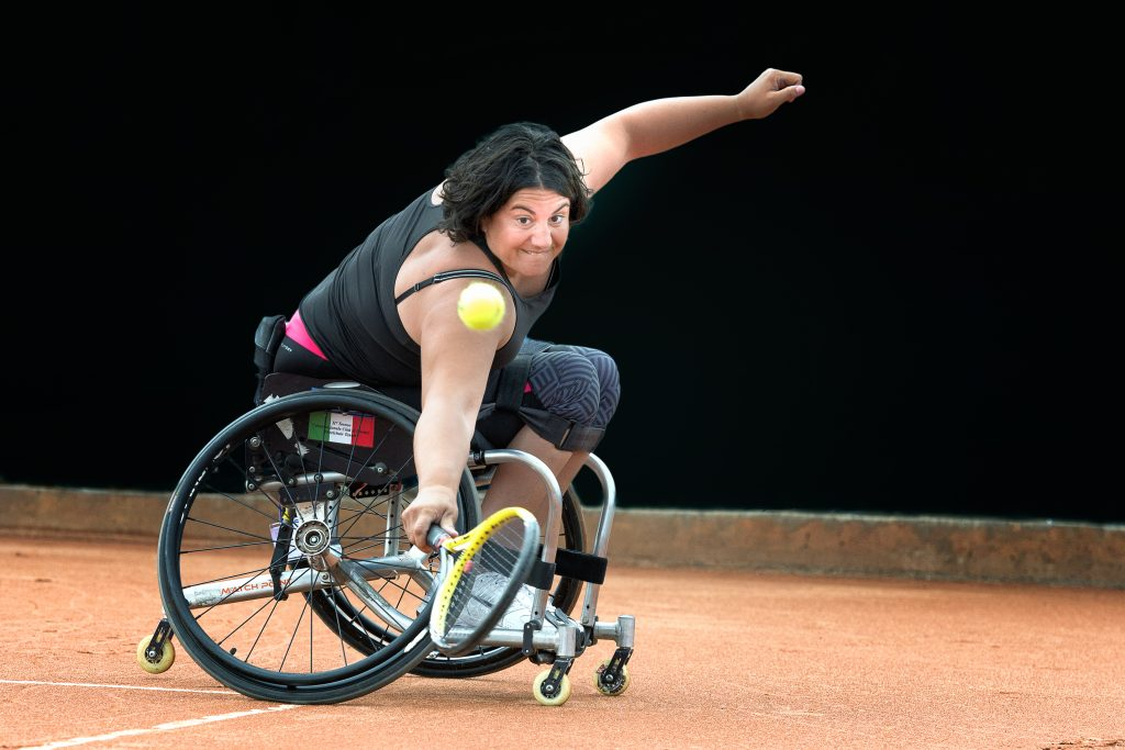 Tennis Carrozzina